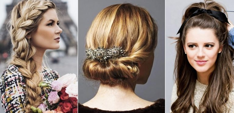 Choose your options for the party hairstyles for thin hair